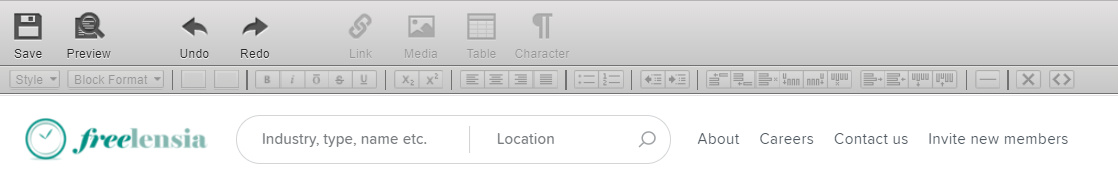 Changing default text editor? - Sharetribe Go open-source
